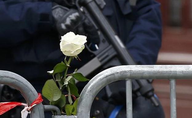 אלפי אנשי ביטחון נפרסו בפריז (צילום: רויטרס)