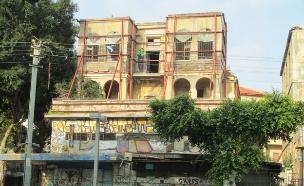 בניין נטוש ברחוב אלנבי בתל אביב (צילום: אבישי טייכר, ויקיפדיה)