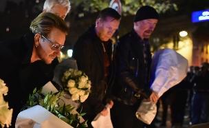 U2 מתאבלים בפריז (צילום: Jeff J Mitchell, GettyImages IL)