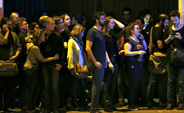 מתקפת הטרור בפריז, שלשום (צילום: רויטרס)