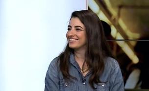דאנה אבגי באולפן (צילום: מתוך הבילויים, ערוץ 24)