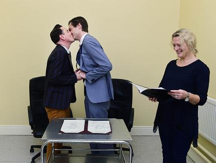הזוג הראשון להנשא באירלנד