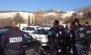 אירוע ירי במרסיי, ארכיון (צילום: sky news)