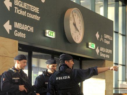חשש מפיגועים באיטליה (צילום: רויטרס)
