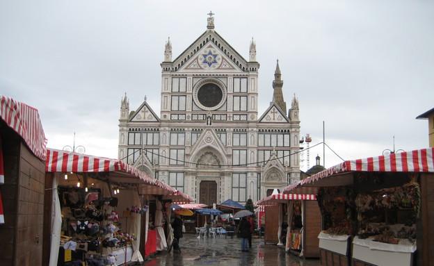 שוק חג מולד בסנטה קרוצ'יה, איטליה (צילום: Kari, Flickr)