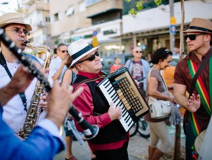 חתונת רחוב בתל אביב