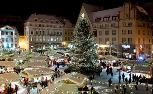 שוק חג מולד באסטוניה (צילום: christmasmarket.ee)