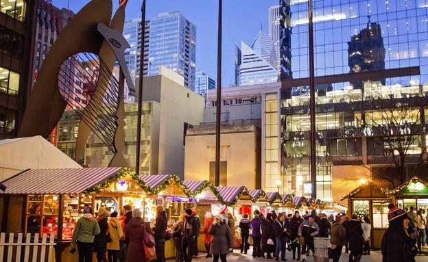 שוק חג מולד בשיקגו (צילום:  True Shot Studios)