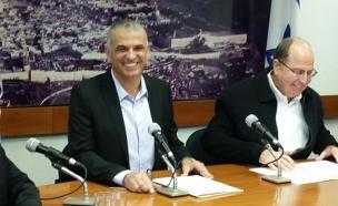 הסכמה על תקציב הביטחון (צילום: חדשות 2)