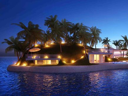 בלגונה באיים המאלדיביים