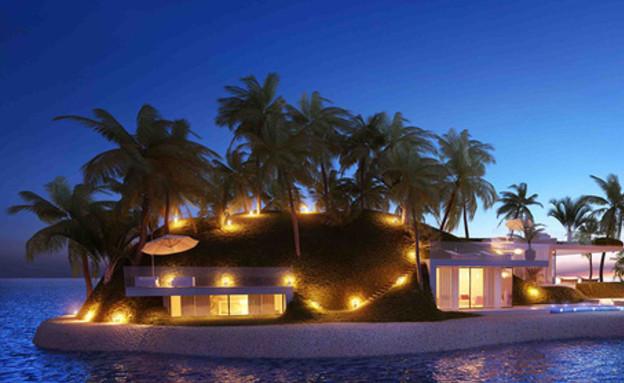 בלגונה באיים המאלדיביים (צילום: dutchdocklands.com)