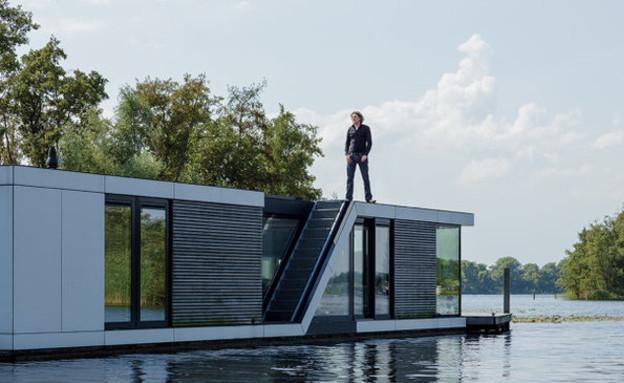 בית צף בהולנד (צילום: fastcompany.com)