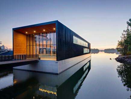 k2s architects בית צף פינלנדי של