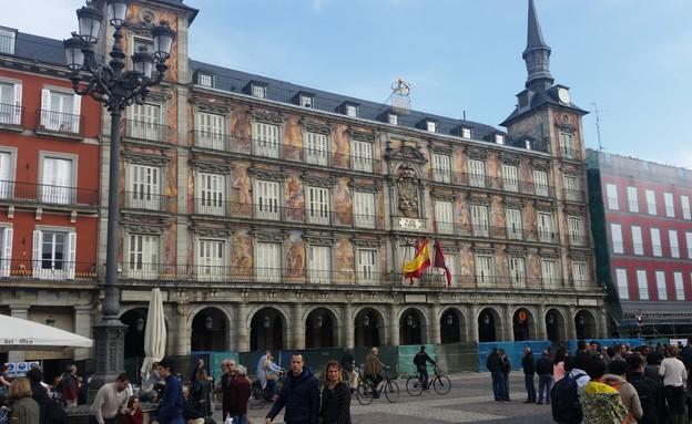 פוארטה דל סול, מדריד (צילום: נגה קרני)