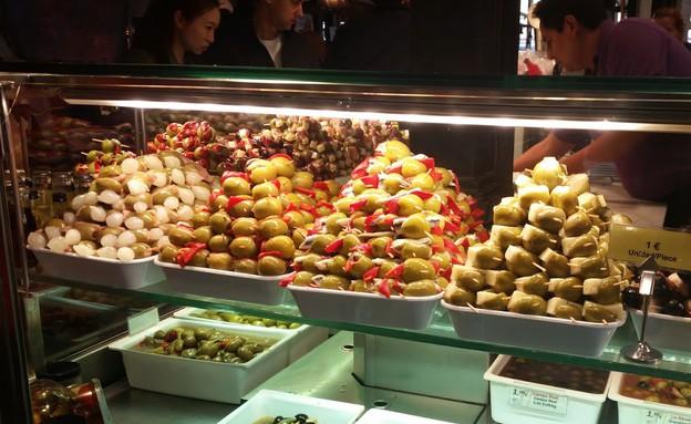 שוק סן מיגל, מדריד (צילום: נגה קרני)