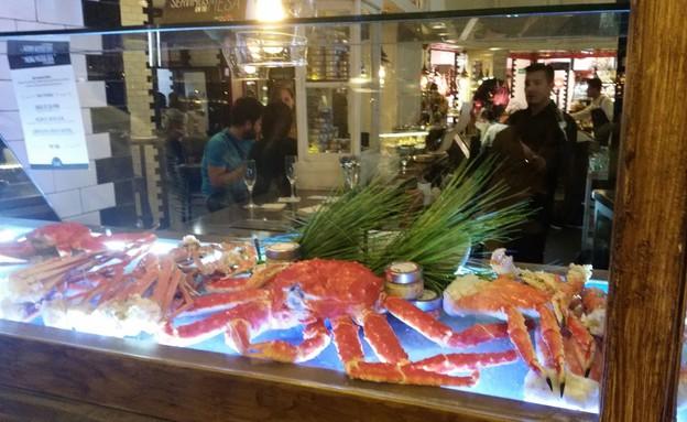 שוק הדגים, מדריד (צילום: נגה קרני)
