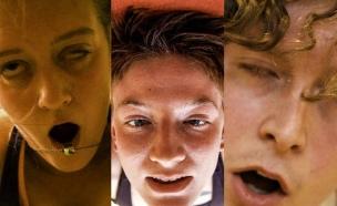 יוגה הבעות פנים (צילום: ג'ונה סרג'נט)