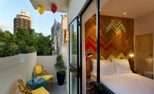 מלון קוקו תל אביב (צילום: אסף פינצ'וק,  יחסי ציבור )