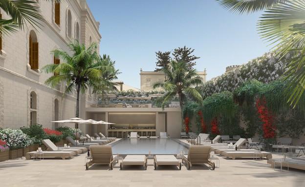 מלון W תל אביב-יפו (צילום: הדמיות: Alex morris)