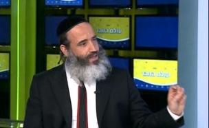 הרב פנגר סוגר שבוע (צילום: מתוך עולם הזוהר, ערוץ 24)