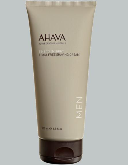 קרם גילוח של המותג AHAVA