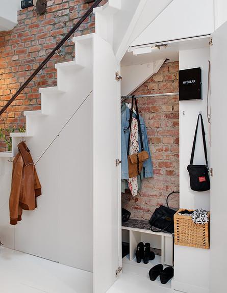 אחסון חורף, אחסון נסתר מתחת למדרגות בעיצוב alvhemmakleri, ג (צילום: alvhemmakleri)