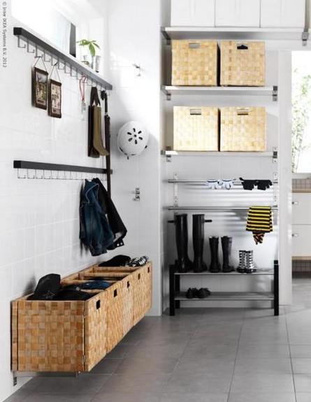 אחסון חורף, מדפים וקופסאות עשה זאת בעצמך, ג (צילום: 5rooms.com)