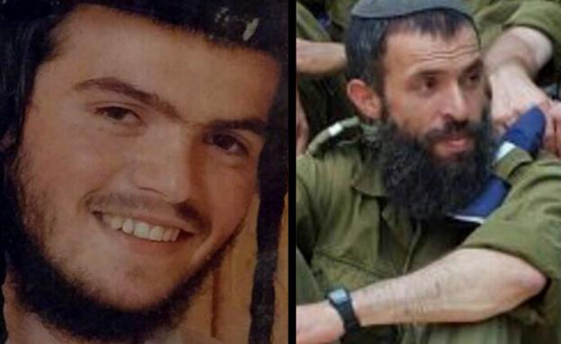 נרצחו ברחוב הגיא. אהרן בנט ונחמיה לביא (צילום: יעקב יברוב)