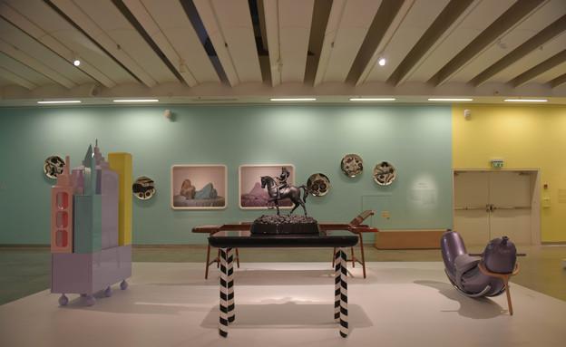 חלל התערוכה (צילום: בן קלמר)