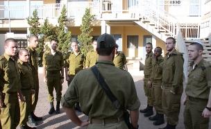 """הצצה להכשרת מחזור נובמבר 2015 בחטיבת גולני (צילום: דובר צה""""ל, באדיבות גרעיני החיילים)"""