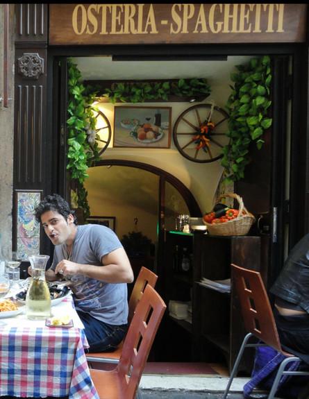 אבי קאשי - סיור אוכל ברומא (צילום: אבי קשי, אוכל טוב)