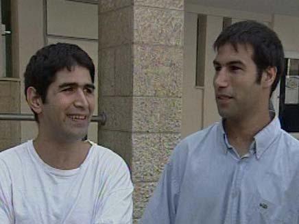 האחים קורידו ב-2009 (צילום: חדשות 2)