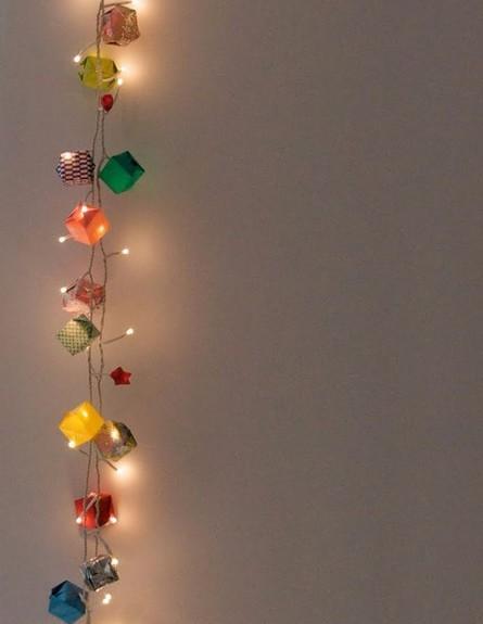 גרלנדות, ג (צילום: diyprojectsforteens.com)