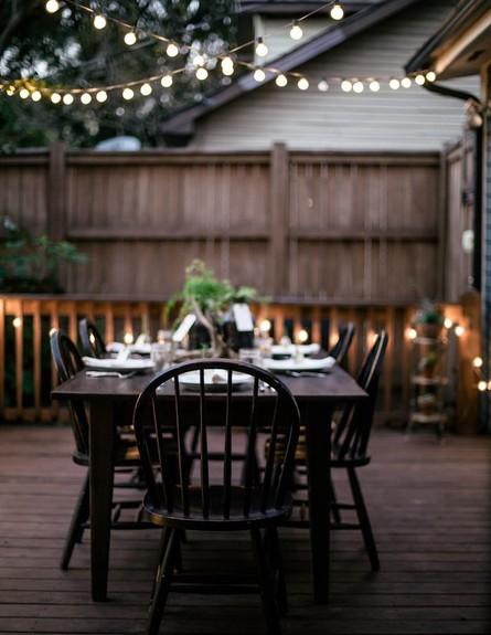 גרלנדות, מושלם לאווירה בחצר או בגינה.  (צילום: thegardenlove.com)