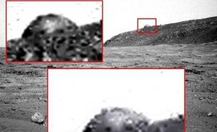 כיפה על מאדים (צילום: NASA)