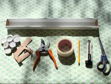 חנוכיות, בטון, חומרים (צילום: מדה ליבר)
