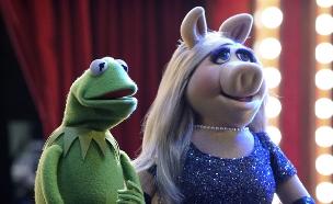 החבובות מיס פיגי וקרמיט (צילום: הוט)