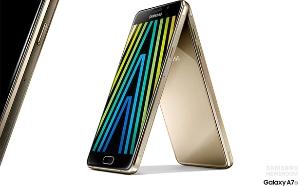 סמארטפון Galaxy A7 דגם 2016 של סמסונג (צילום: Samsung)