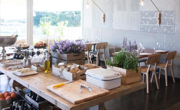 מסעדת סזרינה (צילום: עודד קרני)