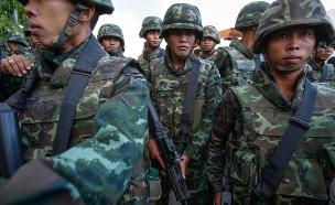 """משטרת תאילנד עצרה 10 סורים הקשורים לדאע""""ש (צילום: רויטרס)"""