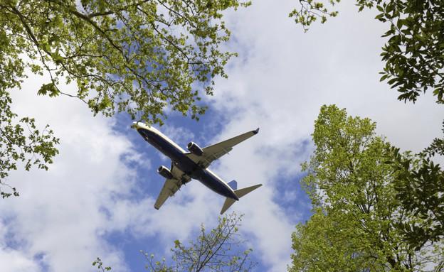 מטוס נוחת (צילום: אימג'בנק / Thinkstock)