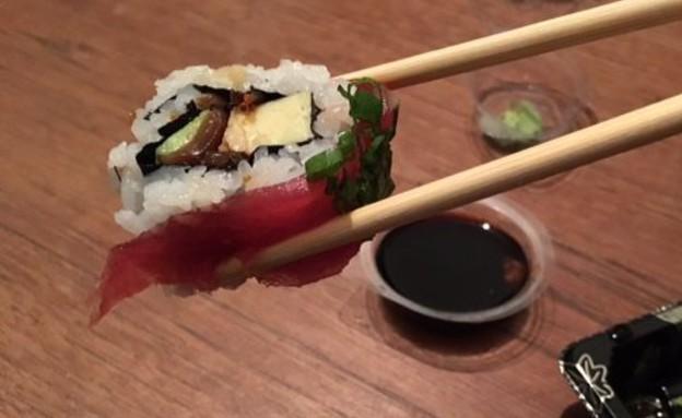 סושי רום טרטר טונה (צילום: ג'רמי יפה, אוכל טוב)