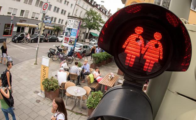 גאווה, רמזורים, אוסטריה (צילום: getty images)