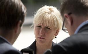 מרגוט וולסטרום, שרת החוץ של שבדיה (צילום: ap)