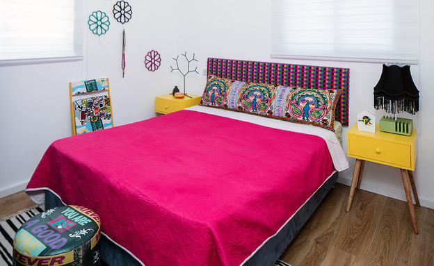חדר שינה (צילום: עוזי פורת)
