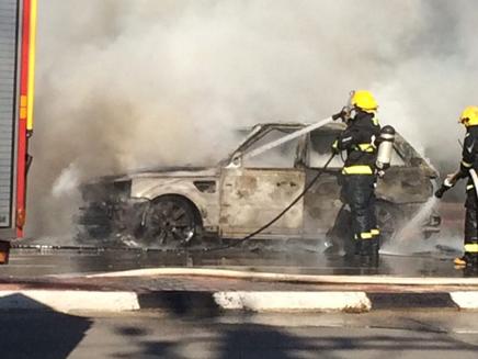 פיצוץ רכב בנס ציונה