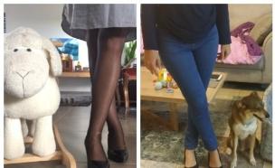 נעלי עקב נוחות - איזי ספירט וקלארקס (צילום: צילום ביתי)