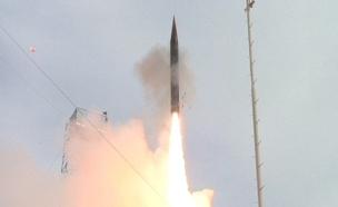 """ניסוי טיל """"החץ 3"""", ארכיון (צילום: משרד הביטחון)"""