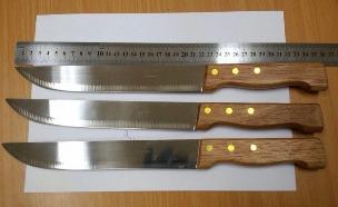 הסכינים שנמצאו על גופם