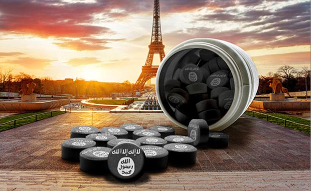 קפטגון, הסם של דאעש (צילום: Thinkstock, אילוסטרציה: סטודיו מאקו)